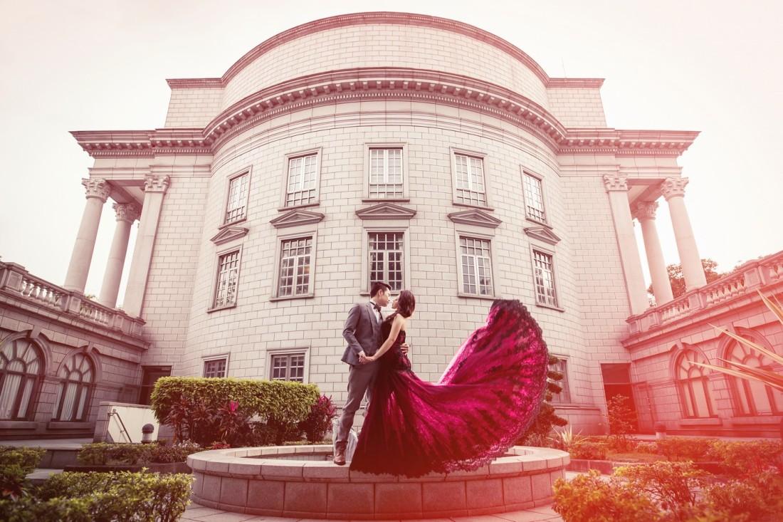復古風格婚紗照